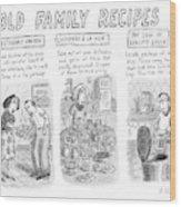 New Yorker June 25th, 2007 Wood Print