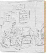 New Yorker May 8th, 2000 Wood Print
