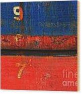 987 Wood Print