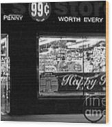 99 Cents - Worth Every Penny Wood Print
