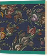 French Fabrics First Half Of The Nineteenth Century 1800 Wood Print