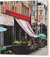 9th Street Italian Market Philadelphia Wood Print