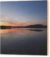 A Balmy Evening Wood Print