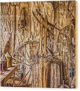 A Bannack General Store Wood Print