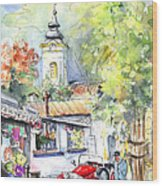 A Beautiful Car In Szentendre Wood Print