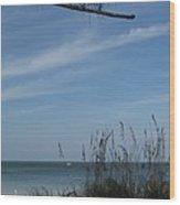 A Beautiful Day At A Florida Beach Wood Print