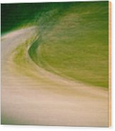 A Bend In The Road Wood Print