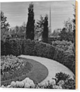 A Bobbink & Atkins Garden Wood Print