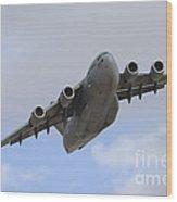 A Boeing C-17 Globemaster IIi Taking Wood Print