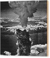 A-bomb Wood Print