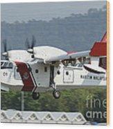 A Bombardier Aerospace Cl-415 Mp Wood Print
