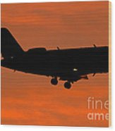A Bombardier Challenger Cl-600 Private Wood Print