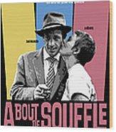 A Bout De Souffle Movie Poster Wood Print
