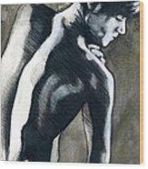A Boy Named Shadow Wood Print