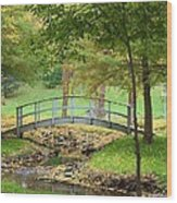 A Bridge To Peacefulness Wood Print