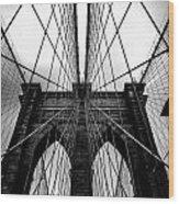 A Brooklyn Perspective Wood Print