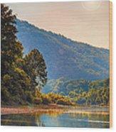 A Buffalo River Morning  Wood Print by Bill Tiepelman