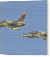 A Bulgarian Air Force L-39 Albatros Wood Print