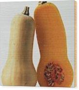 A Butternut Squash Wood Print