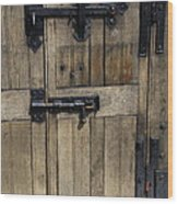 A Cahir Castle Door Wood Print