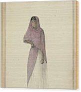 A Canara Dancing Woman Wood Print