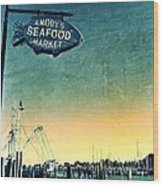 A Catch Since 1917 Wood Print by Scott Allison