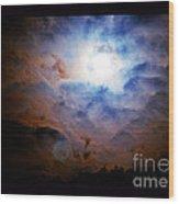 A Celestial Harmonic Wood Print
