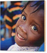 A Child's Smile Is One Of Life's Greatest Blessings Wood Print