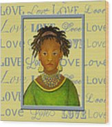 A Child's Whispers Of Love Wood Print by The Art With A Heart By Charlotte Phillips