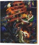A Christmas Carol Wood Print