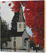 A Church In Historic Jacksonville Wood Print