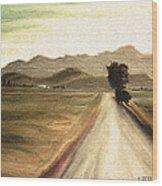 A Classic Landscape Wood Print