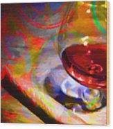 A Cognac Night 20130815 Wood Print