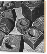 A Collection Of Nuts Wood Print