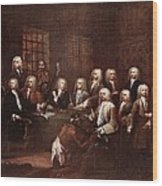 A Committee Of The House Of Commons Wood Print