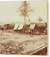 A Confederate Redoubt, Us, Usa, America Wood Print