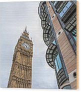 A Corner In London Wood Print
