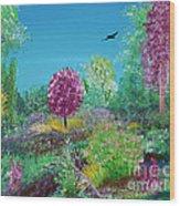 A Corner Of Heaven In Rural Indiana Wood Print