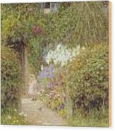 A Cottage At Redlynch Wood Print