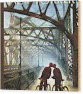Fifty Ninth Street Bridge Wood Print