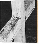 A Cross Abstract 2 Wood Print