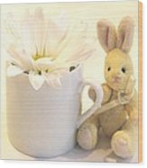 A Cup Of Cheer Wood Print