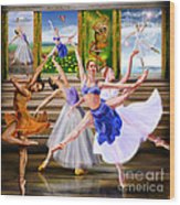 A Dance For All Seasons Wood Print by Reggie Duffie