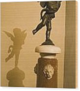 A Dancing Cupid In The Palazzo Vecchio Wood Print