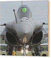 A Dassault Rafale Fighter Aircraft Wood Print
