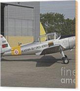 A Dhc-1 Chipmunk Trainer Aircraft Wood Print
