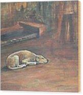 A Dog's Life. Wood Print