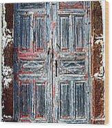 A Door Seldom Open Wood Print