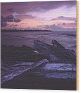 A Driftwood Morning Wood Print