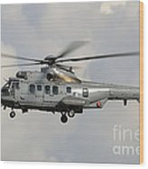 A Eurocopter As532 Cougar Of The Royal Wood Print